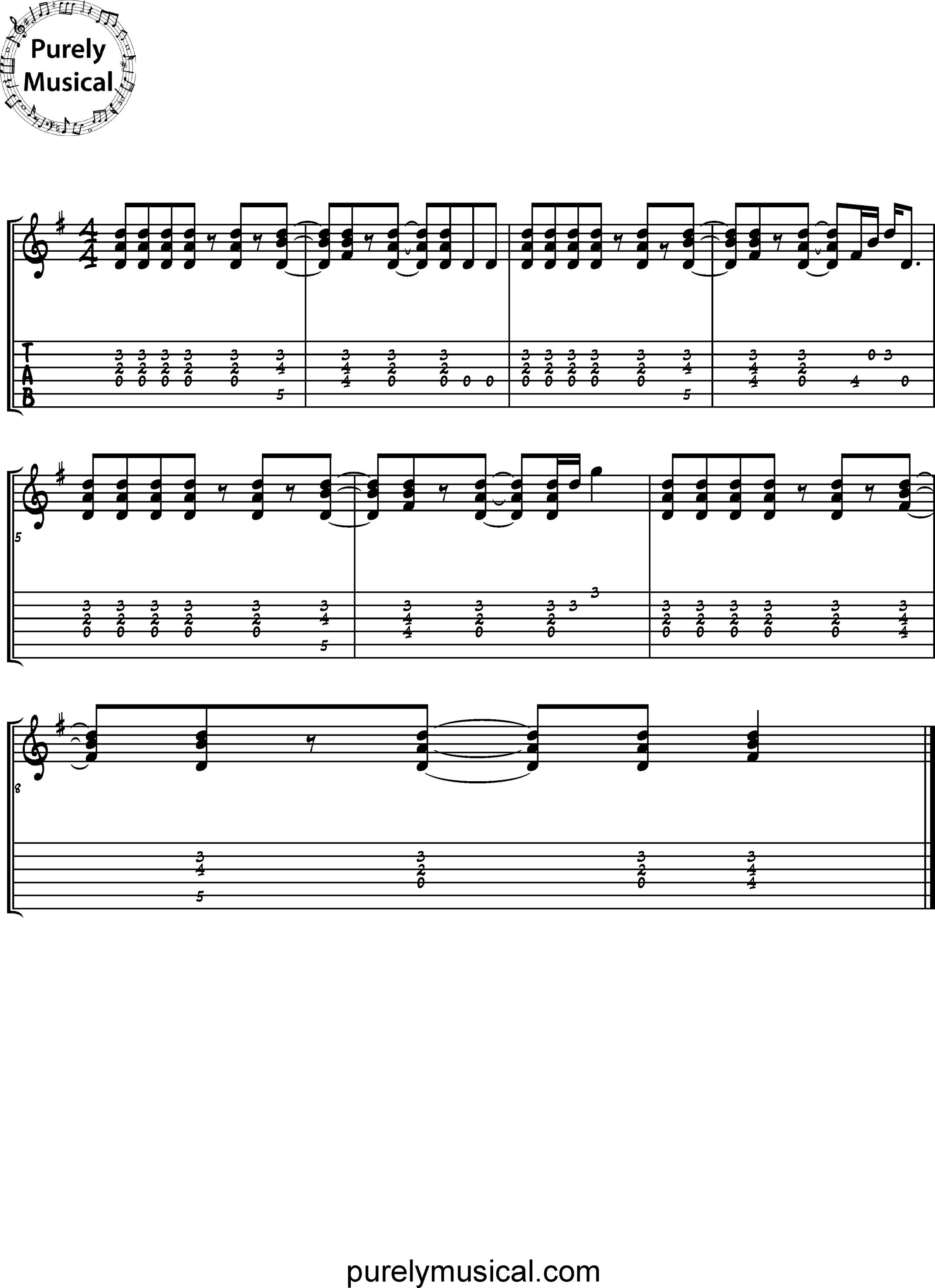 Intermediate  Rhythm Exercises G Funk Grooves
