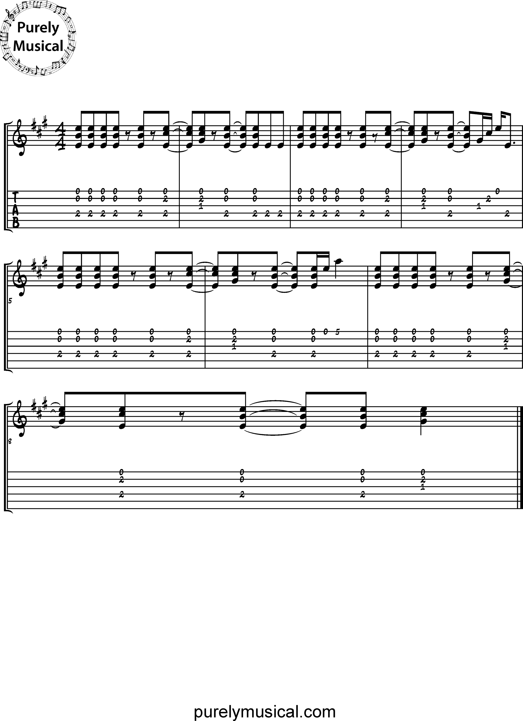 Intermediate  Rhythm Exercises A Funk Grooves