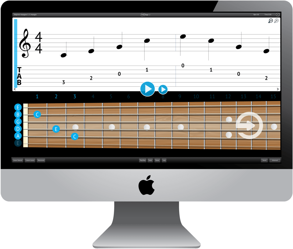 Purely Acoustic Guitar Software Application