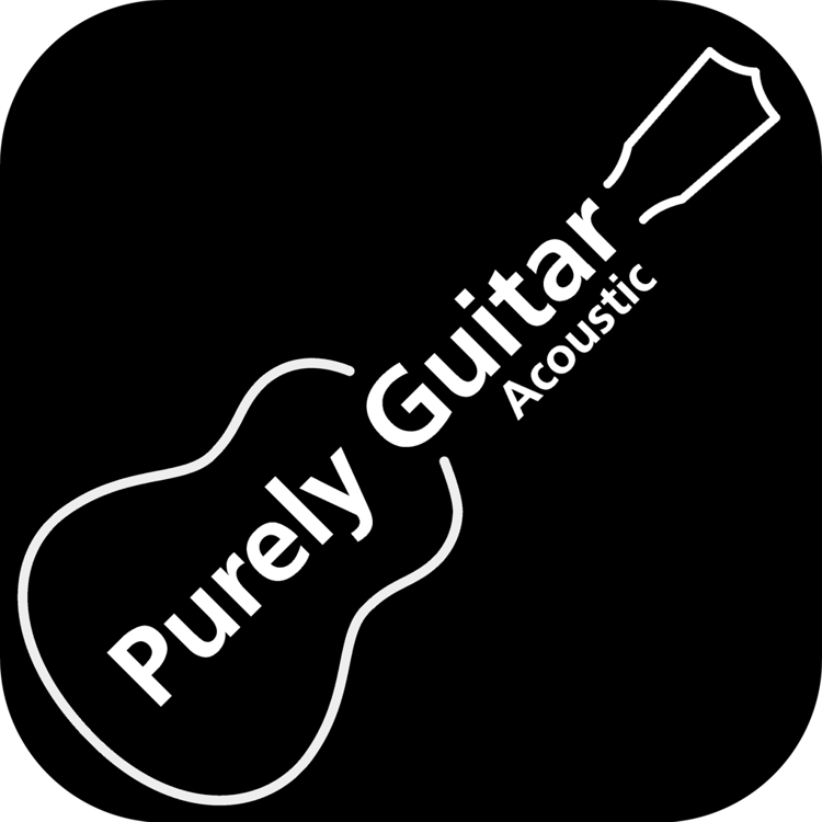 Purely Acoustic Guitar Logo